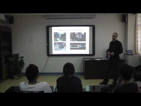 Speech at Zhejiang Chinese Medical University held by Tim Vukan