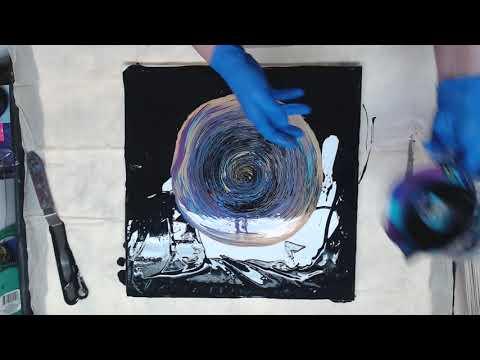 (447) Straight Pour Amazing Cells! Featuring Pourage Posse Paints!