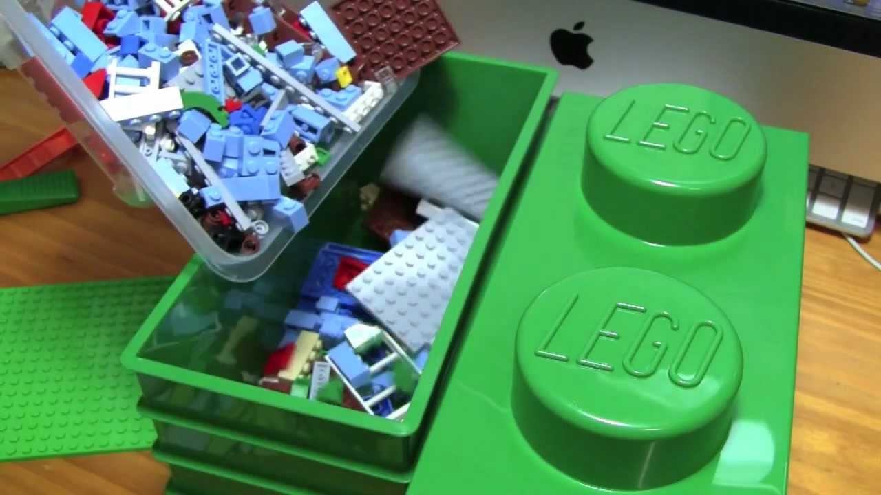 Mundane Unboxer | LEGO Brick Storage   YouTube