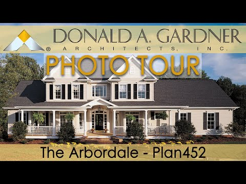 The Arbordale Country Home Plan 452 YouTube