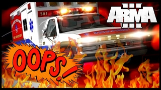 Arma 3 Altis Life Mod Sin City: У Медика Бомбануло!