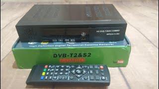 Комбо приёмник DVB-S2 + T2 Vmade 8902 из Китая: распаковка, настройка, обзор, ввод BISS