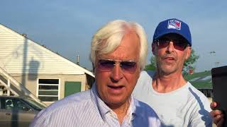 Belmont Stakes 2018: Bob Baffert on Justify, Triple Crown. Shot 5/28