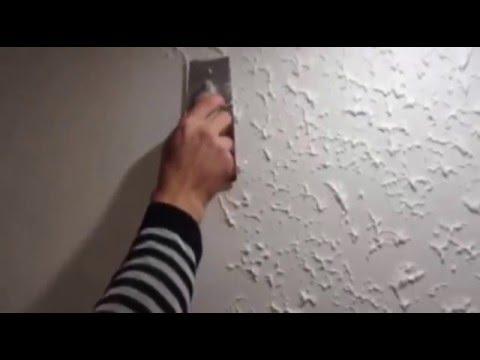 Cмотреть видео Декоративная штукатурка на кухне из структурной краски и декоративной лазури