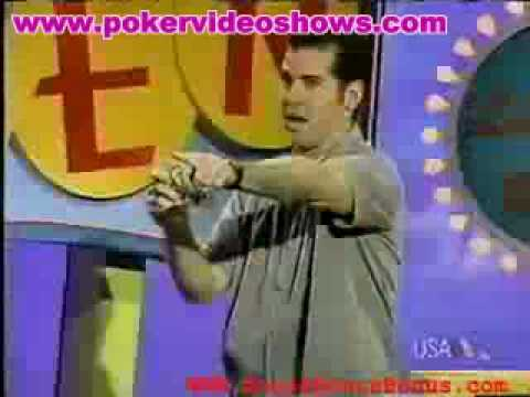 Strip poker television game show