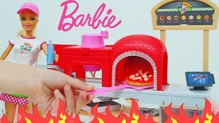 Barbie pizza chef doll and playset  Барби Пицца Шеф