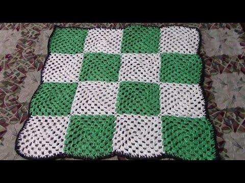 Вязание коврика в ванну спицами видео