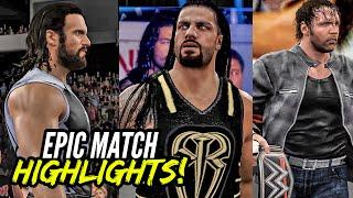 WWE 2K16 Battleground 2016 Reigns vs. Rollins vs. Ambrose | Epic Match Highlights!
