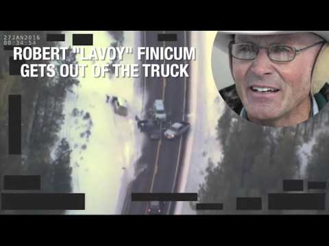 How the traffic stop that resulted in Robert 'LaVoy' Finicum's death unfolded
