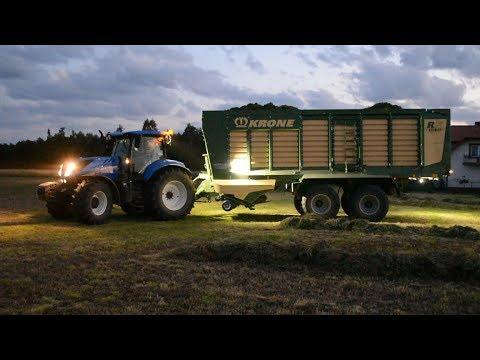 Zbiór traw w GR Świeżak ( NH, KRONE, FENDT, JD )