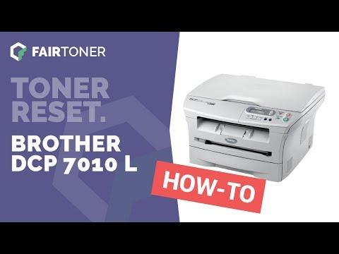 Anleitung: Brother DCP 7010 L Toner Reset ✅🛠
