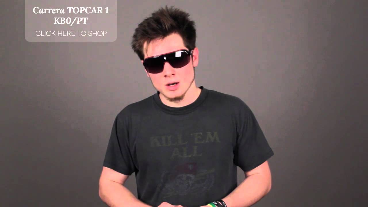9553b784614 Carrera TOPCAR 1 KB0 PT - CARRERA Sunglasses Review - YouTube