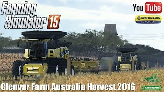 Glenvar Farm Australia Harvest 2016 - New Holland CR 9.90 - Farming Simulator 15