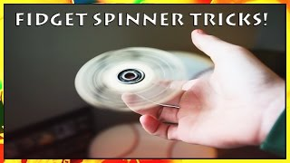fidget spinner tricks tutorial