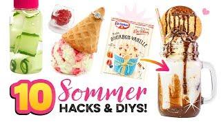 Sommer LIFE HACKS und coole Eis-Ideen🌴Gegen Langeweile DIY Ideen 💖Geschenke selber machen!