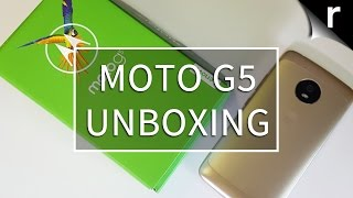 Moto G5 unboxing: Mighty metal mid-ranger
