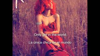 Rihanna Only girl in the world subtitulado español ingles
