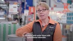 Pieni suuri teko: työtoimintaa K-Rauta Järvenpäässä