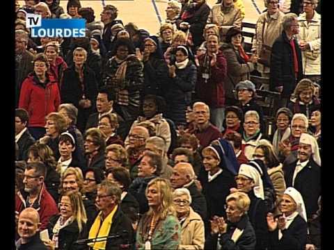 Lourdes Messe Internationale du mercredi 21 oct. 2015-International Mass (France)