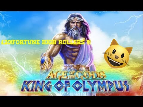 Ladbrokes Slot Age Of The Gods,GOD Of STORMS ** £20'Fortune Rollers**