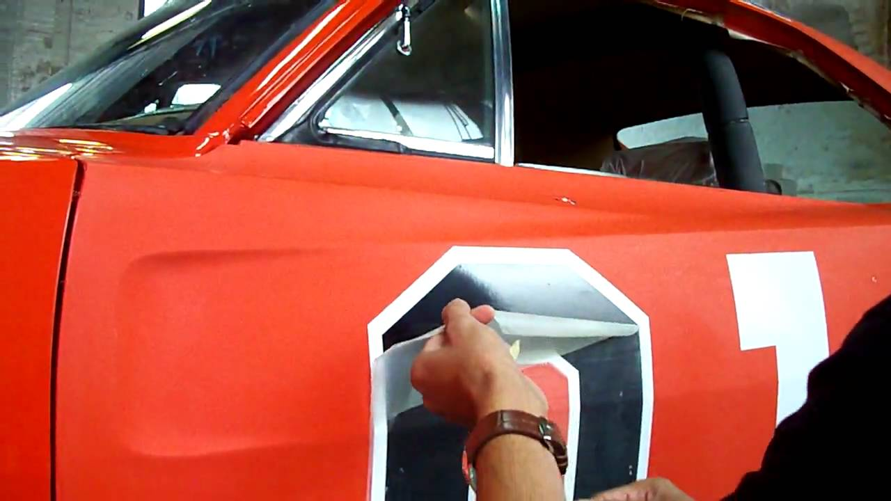 Placing The 01 Decals On Lee 1 Right Door Youtube