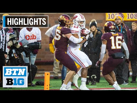 Highlights: Badgers Claim B1G West Title | Wisconsin at Minnesota | Nov. 30, 2019