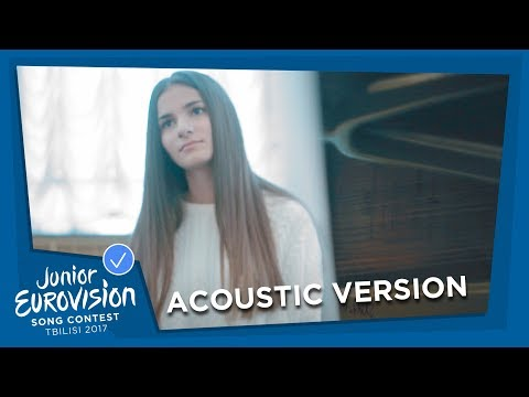 HELENA MERAAI 🇧🇾 - I AM THE ONE - ACOUSTIC / ENGLISH VERSION - JUNIOR EUROVISION 2017