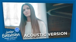 HELENA MERAAI 🇧🇾 - I AM THE ONE - ACOUSTIC / ENGLISH VERSION - JUNIOR EUROVISION 2017