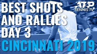 Best Shots And Rallies | Cincinnati 2019 Day 3
