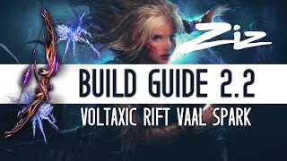 Path of Exile 2.2 Voltaxic Vaal Spark Build Guide - Fast & Safe Map Clearer