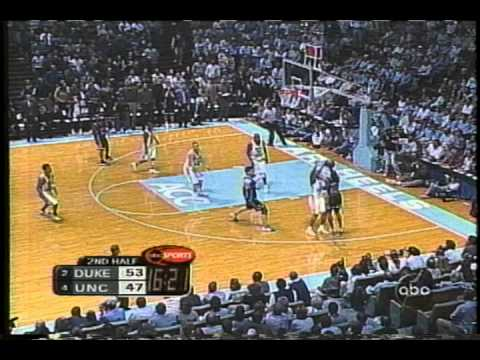 Shane Battier Ignites Run at UNC