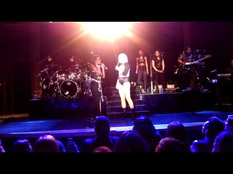 Jessie J brings fan onstage in Denver
