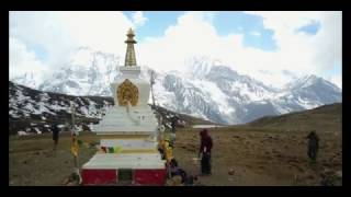 Annapurna Circuit Trek, Nepal, with dji Mavic drone in 4K, April 2017