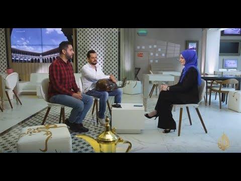هذا الصباح- الفنان حمزة الفضلاوي ضيف -مقهى الجزيرة-  - 12:22-2018 / 4 / 25