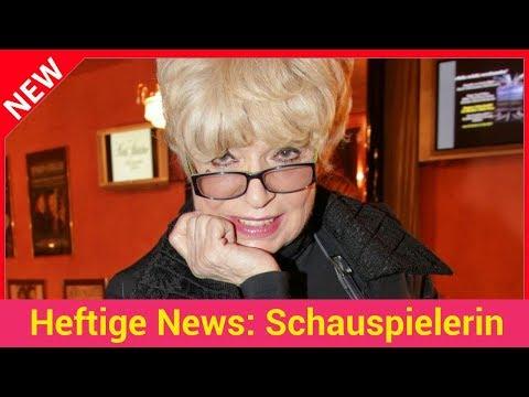 Heftige News: Schauspielerin
