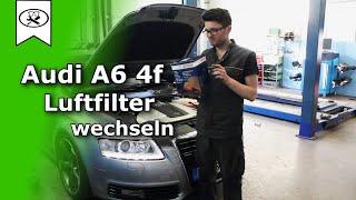 Audi A6 4F 3.0 Luftfilter Wechseln | Air Filter Replacement | VitjaWolf | Tutorial | HD
