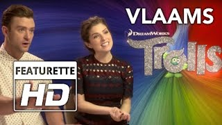 Trolls | Interview Laura Tesoro | HD | Vlaams | 2016