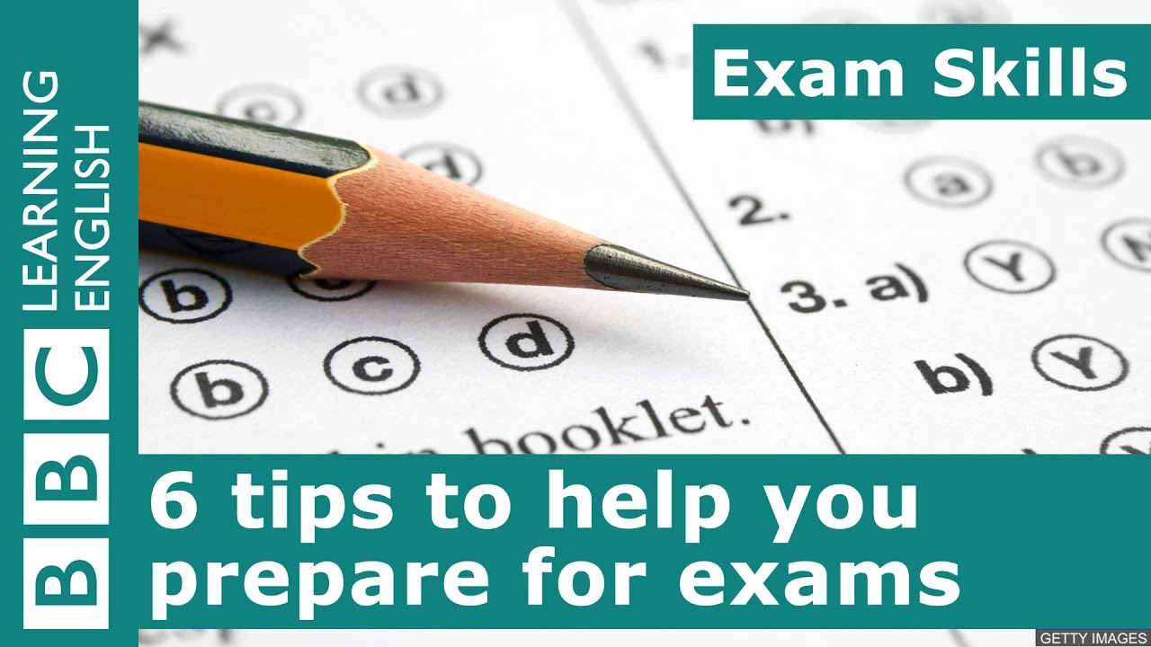 How to take the exam - some tips