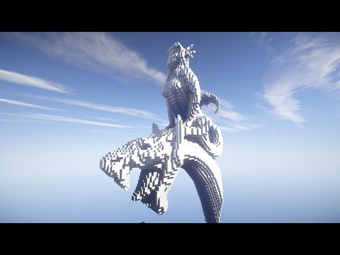 Come costruire una statua realistica su minecraft (polena + testa di drago)