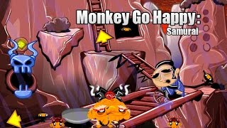 Monkey Go Happy: Samurai - Walkthrough