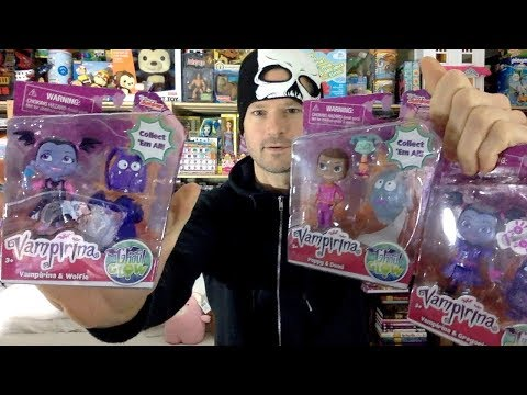 Just Play Vampirina Best Ghoul Friends Sets Wolfie Gregoria Poppy & Demi Unboxing Review