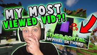 REACTING TO MY MOST VIEWED SKYWARS VIDEO!