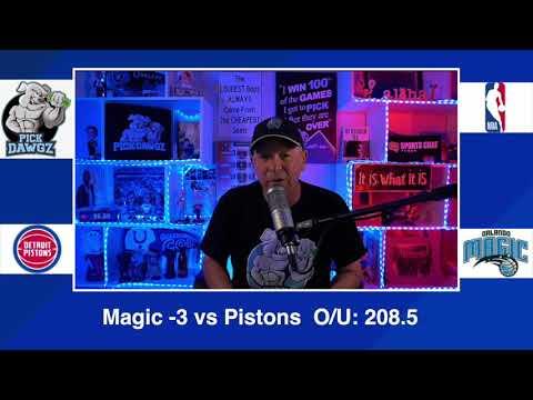 Orlando Magic vs Detroit Pistons 2/23/21 Free NBA Pick and Prediction NBA Betting Tips