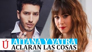 OJO   Aitana y Sebastián Yatra cazados por los paparazzis y Aitana desmonta la exclusiva