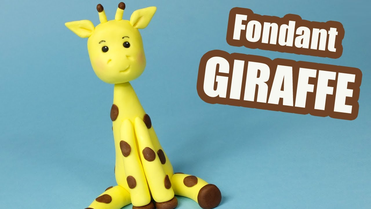 How To Make A Giraffe Cake Topper