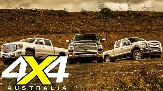 American Pick-up truck comparison | Road test | 4X4 Australia