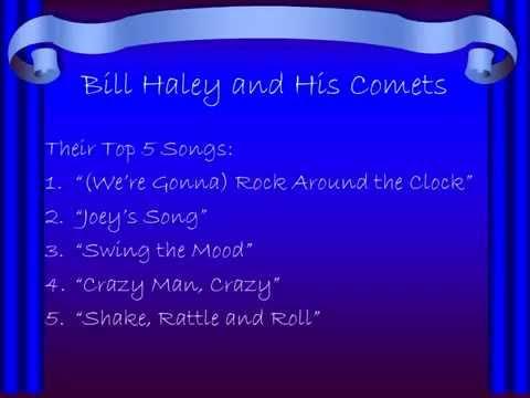 Top 10 SingersBands from the 50s