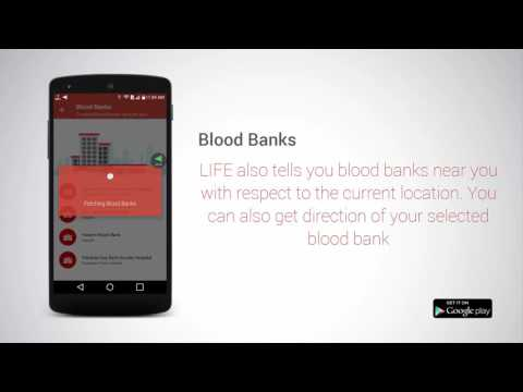 LIFE : BLOOD DONATION ANDROID APP