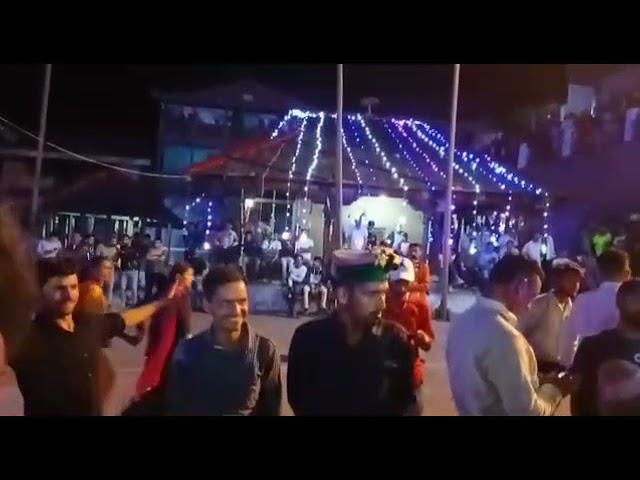 चम्बा/भरमौर ! नाटी किंग कुलदीप शर्मा के नाम रही छत्रराड़ी जात्तर की सांस्कृतिक संध्या।