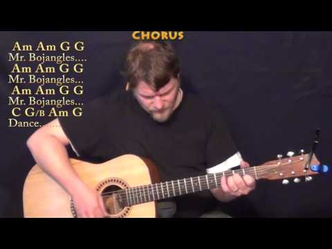 Mr Bojangles (Jerry Jeff Walker) Strum Guitar Cover Lesson in C with Chord/Lyrics